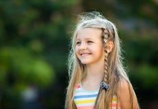 Smilig girl portrait Stock Photography