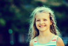 Smilig girl portrait Royalty Free Stock Photos