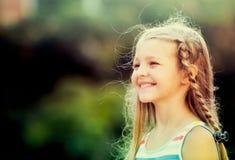 Smilig girl portrait Royalty Free Stock Images