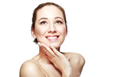 Smilimg young woman Royalty Free Stock Photos