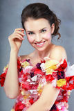 Smilimg young woman Stock Photography