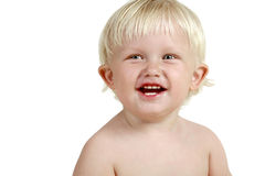 Smiling adorable baby Stock Photography