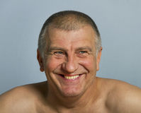 Smiling adult man. Royalty Free Stock Photography