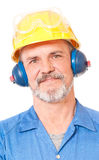 Smiling adult worker Royalty Free Stock Photo