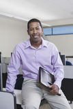 Smiling African American Business Executive Royalty Free Stock Photo