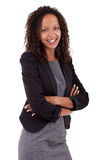 Smiling african american business woman Royalty Free Stock Image