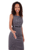 Smiling african american business woman Royalty Free Stock Photo