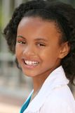 Smiling African American Teenager Girl Royalty Free Stock Photos