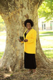 Smiling African American woman Royalty Free Stock Images
