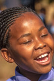 Smiling african child Stock Images
