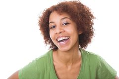 Smiling African girl Royalty Free Stock Image