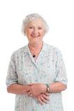 Smiling aged senior lady Royalty Free Stock Photo