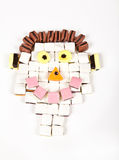 Smiling allsorts man Royalty Free Stock Images