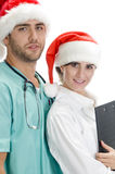 Smiling American Medical Professionals Stock Photo