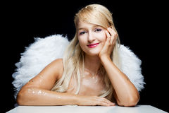 Free Smiling Angel Stock Photos - 21862243