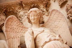 Smiling angel Stock Photos