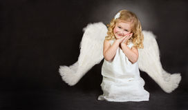 A smiling angel Royalty Free Stock Images