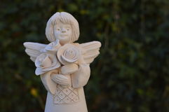 Smiling angel Royalty Free Stock Photos