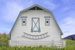 Smiling Animated Barn Royalty Free Stock Images