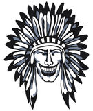 Smiling Apache. Stock Images
