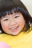 Smiling Asian baby Royalty Free Stock Photos