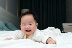 Smiling Asian baby Royalty Free Stock Photos