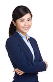 Smiling asian buisnesswoman Royalty Free Stock Photo