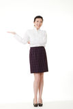 Smiling Asian business woman Royalty Free Stock Image