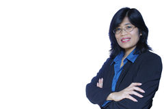 Smiling Asian business woman Stock Photos