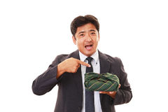 Smiling Asian businessman Royalty Free Stock Images