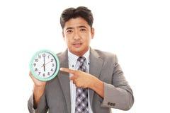 Smiling Asian businessman Stock Photography