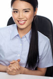Smiling Asian businesswoman Royalty Free Stock Image