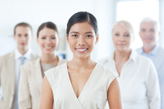 Smiling Asian Businesswoman Royalty Free Stock Photo