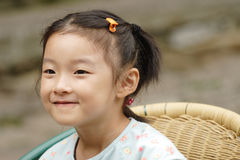 Smiling asian child Stock Images