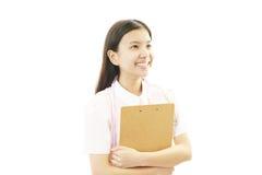 Smiling Asian female nurse Royalty Free Stock Image