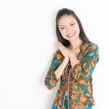 Smiling Asian female Royalty Free Stock Photography
