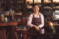 Smiling asian girl Royalty Free Stock Image