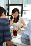 Smiling Asian girl Stock Photography