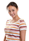 Smiling asian girl Royalty Free Stock Image