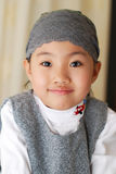 Smiling Asian little girl royalty free stock image