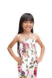 Smiling asian little girl Stock Photography
