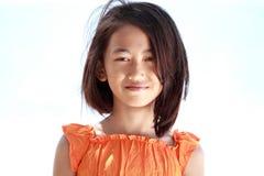 Smiling asian little girl Stock Image