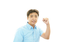 Smiling Asian man Royalty Free Stock Image