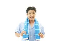 Smiling Asian man Stock Photos