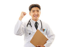 Smiling Asian medical doctor Stock Photos