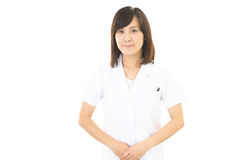 Smiling Asian medical doctor stock photography