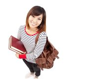 Smiling Asian student Stock Photos