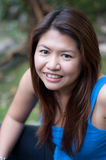 Smiling asian thai attractive woman Royalty Free Stock Images