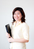 Smiling asian woman Stock Photos