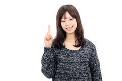 Smiling asian woman Royalty Free Stock Photography
